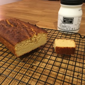 Paleo Coconut lemon tea cake